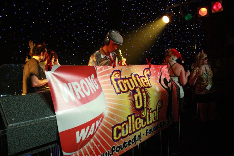 Foutief DJ Collectief in Dieka, Markelo, 26-12-2009 54