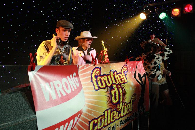 Foutief DJ Collectief in Dieka, Markelo, 26-12-2009 209
