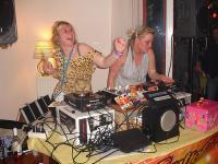 Helga & Inga at Gonneke's